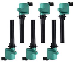 professional pack of 6 ignition coils