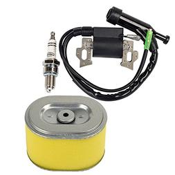 HIFROM Replace Ignition Coil with Spark Plug Air Filter for