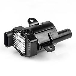 round ignition coils on plug pack