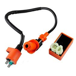 Arichtop Scooter High Performance Ignition Coil AC Fired Cdi