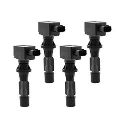 uxcell Set of 4 Ignition Coil for 2006-2013 Mazda 3 6 MX-5 M