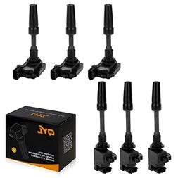 QYL Set of 6 Ignition Coils Replacement for Front and Rear 1