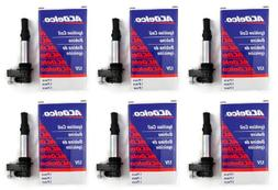 six new oem ignition coils acdelco d501c
