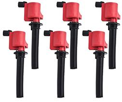 Super High Energy Pack of 6 Ignition Coils for Ford Escape F