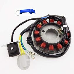 TC-Motor 12 Coils Ignition Stator Magneto For 4 Stroke GY6 1