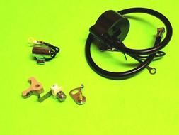 New IGNITION COIL / MODULE w/ Ignition Set POINTS & CONDENSE