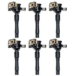 UF354 Set of 6 Ignition Coils for BMW Land Rover Bentley Rol